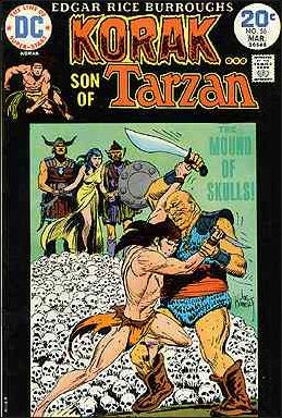 Korak, Son of Tarzan 56-A by DC