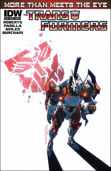 Transformers: More Than Meets the Eye (2012) 16-A by IDW