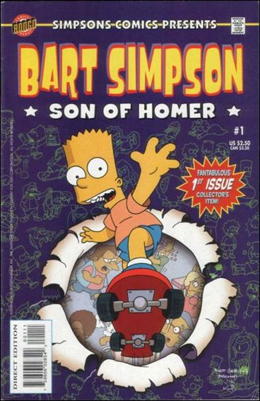 Simpsons Comics Presents Bart Simpson 1-A by Bongo