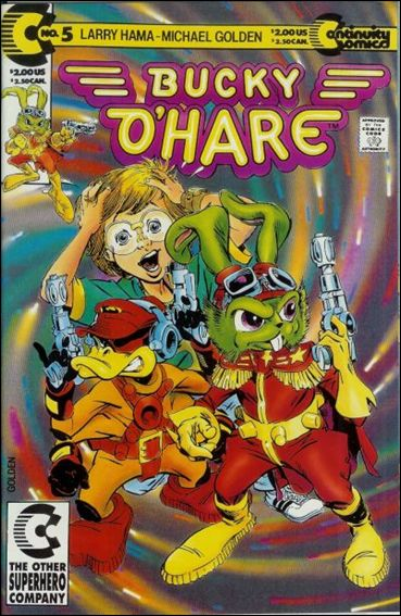 Bucky O'Hare 5-A by Continuity Comics