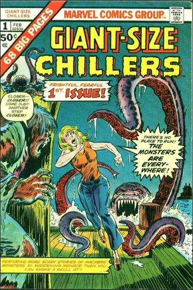 Giant-Size Chillers 1-A by Marvel