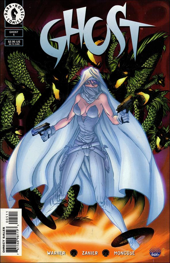 Ghost (1998) 5-A by Dark Horse