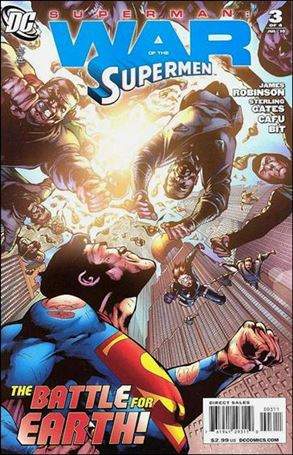 Superman: War of the Supermen 3-A