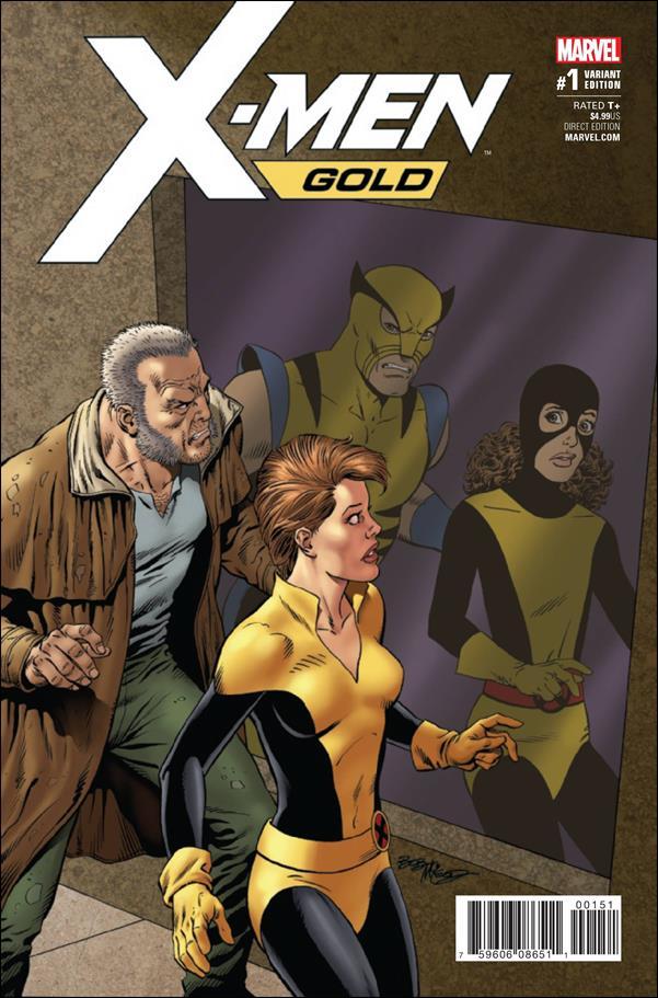 X-Men: Gold 1-E by Marvel