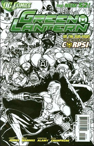 Green Lantern (2011) 3-C by DC