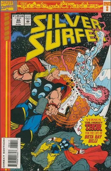Silver Surfer (1987) 86-A by Marvel