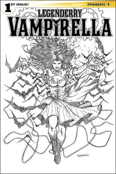 Legenderry Vampirella 1-D by Dynamite Entertainment