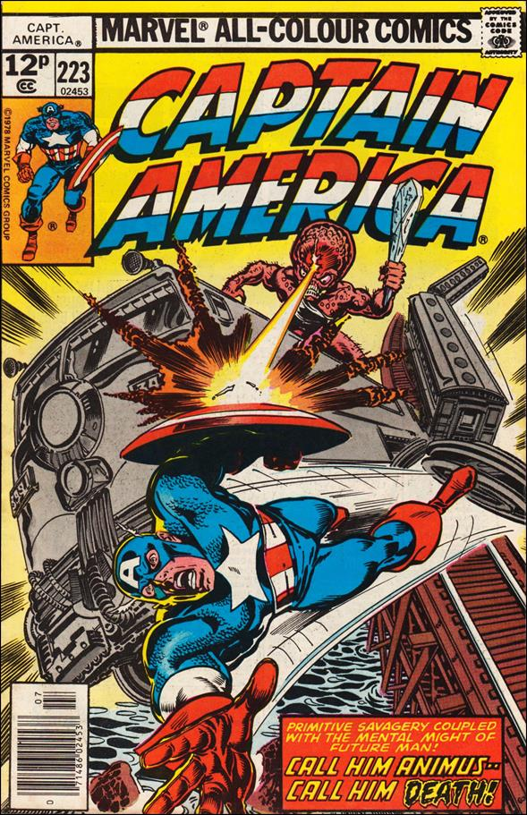 Captain America (1968) 223-B by Marvel