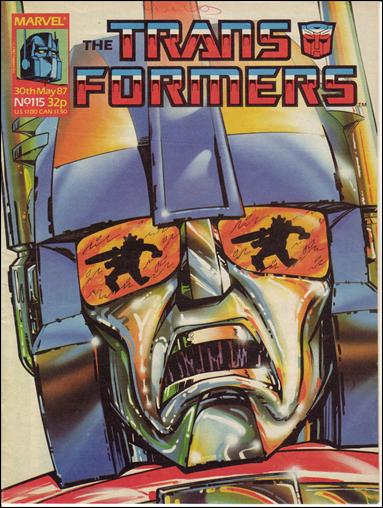 Transformers (UK) 115-A by Marvel UK