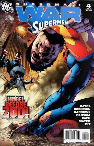 Superman: War of the Supermen 4-A by DC