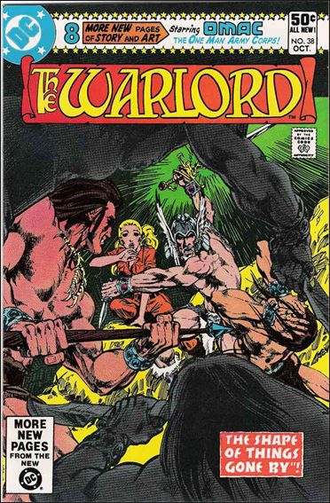 Warlord (1976) 38-A by DC