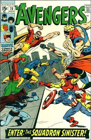 Avengers (1963) 70-A