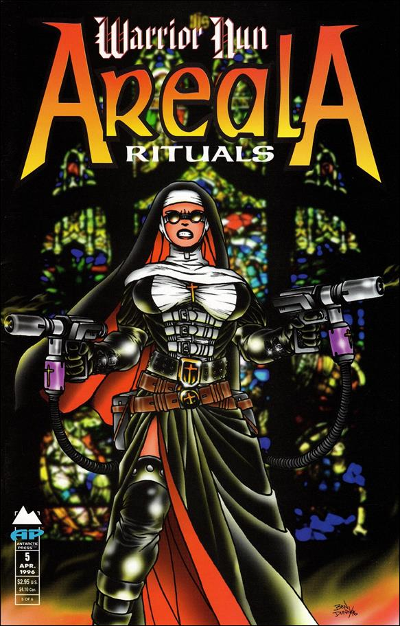 Warrior Nun Areala: Rituals 5-A by Antarctic Press