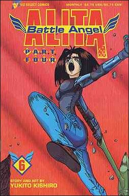 Battle Angel Alita Part 4 6-A by Viz