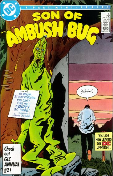 Son of Ambush Bug 6-A by DC