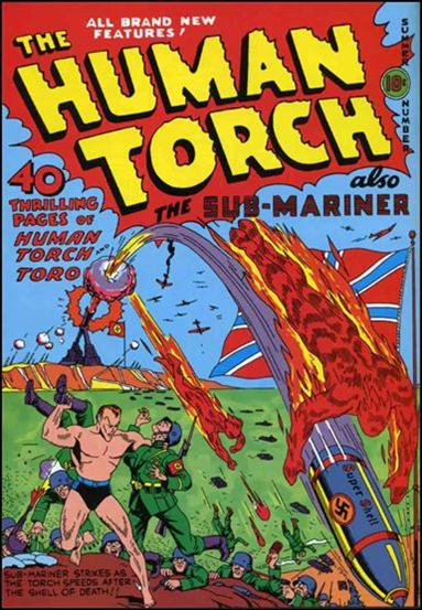 Human Torch (1940) 5a-A by Timely