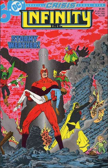 Infinity Inc. (1984) 20-A by DC