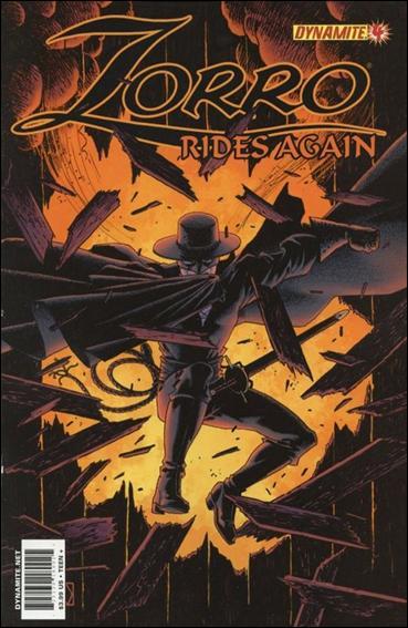 Zorro Rides Again 4-A by Dynamite Entertainment