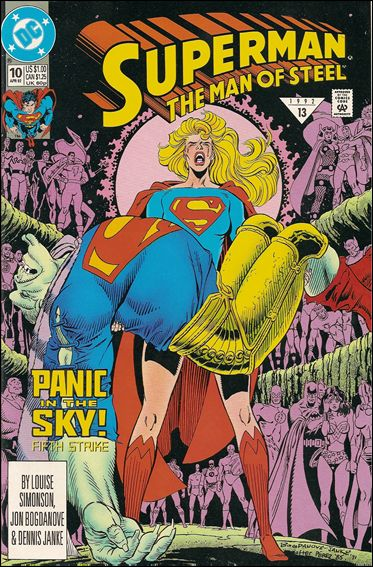Superman: The Man of Steel 10-A by DC