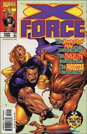 X-Force (1991) 90-A