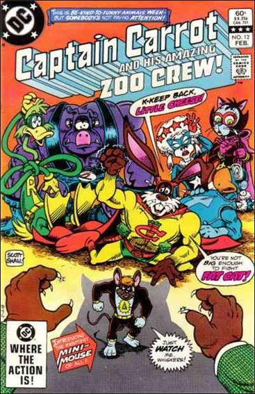 Captain Carrot and His Amazing Zoo Crew 12-A by DC