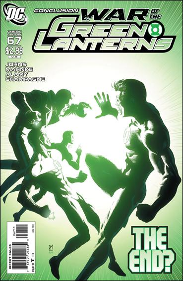 Green Lantern (2005) 67-A by DC