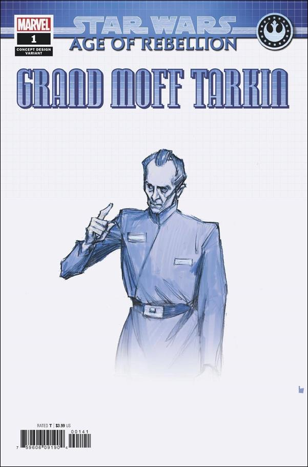 Star Wars: Age of Rebellion - Grand Moff Tarkin 1-C by Marvel