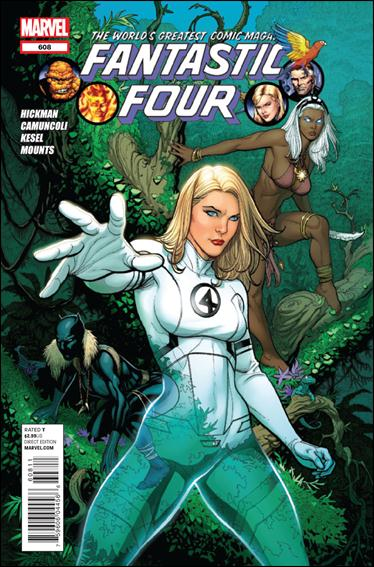 Fantastic Four (1961) 608-A by Marvel