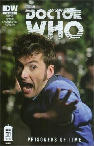 Doctor Who: Prisoners Of Time  10-C by IDW