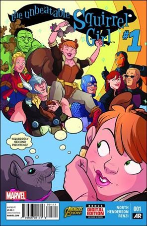 Unbeatable Squirrel Girl 1-E