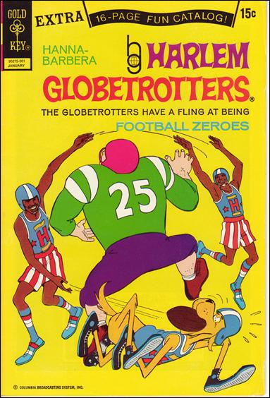 Harlem Globetrotters 4-A by Gold Key