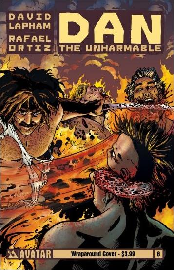 Dan the Unharmable 6-B by Avatar Press