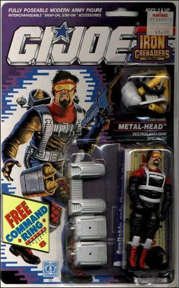 "G.I. Joe: A Real American Hero 3 3/4"" Basic Action Figures Metal-Head (Destro's Anti-Tank Specialist)  by Hasbro"