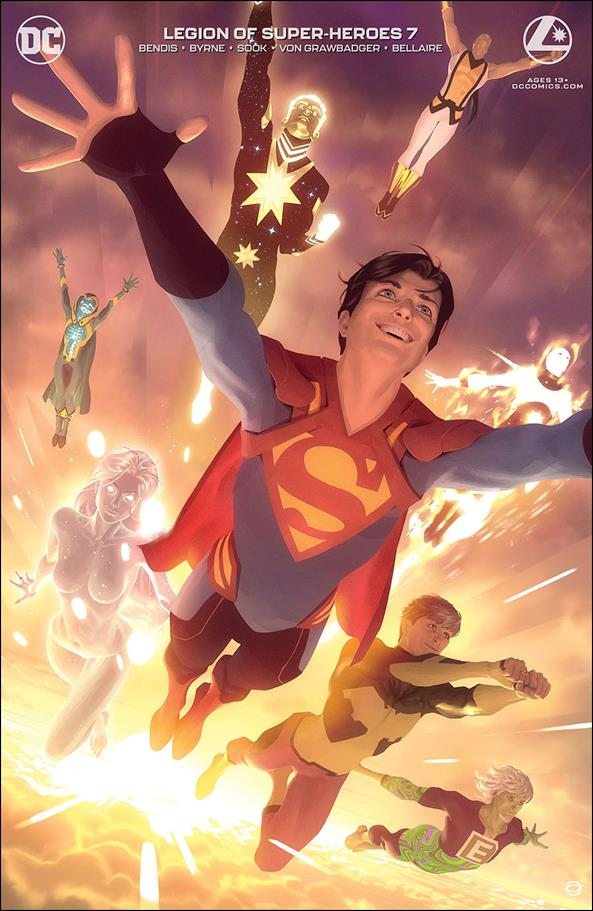 Legion of Super-Heroes (2020) 7-B by DC
