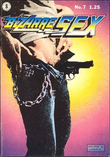 Bizarre Sex 7 A, Jan 1979 Comic Book by Kitchen Sink