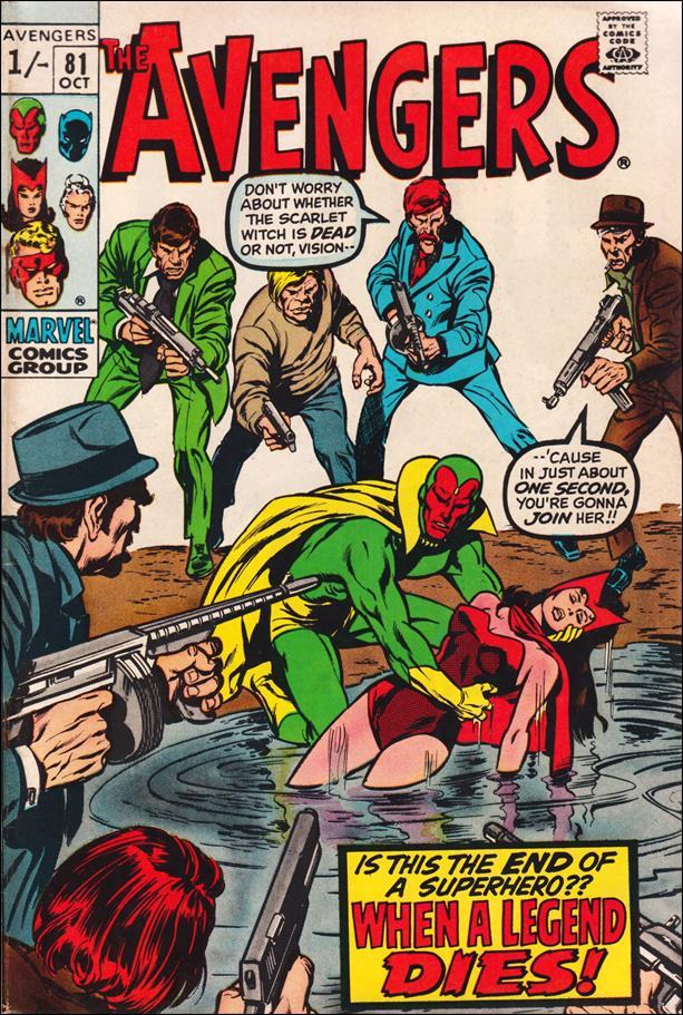 Avengers (1963) 81-B by Marvel