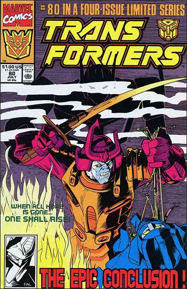 Transformers (1984) 80-A by Marvel