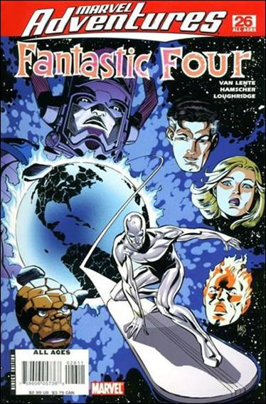 Marvel Adventures Fantastic Four 26-A by Marvel