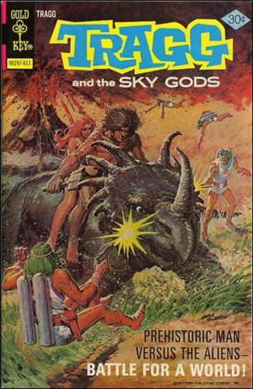 Tragg and the Sky Gods 7-A by Gold Key
