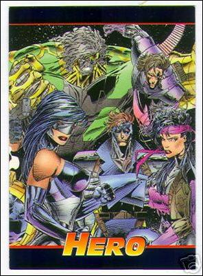 Hero Master-Foil: Cyber Force / Stryke Force (Promo) 2 of 3-A by Hero Illustrated