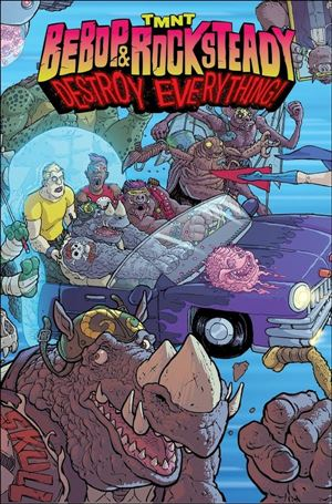 Teenage Mutant Ninja Turtles Bebop & Rocksteady Destroy Everything nn-A