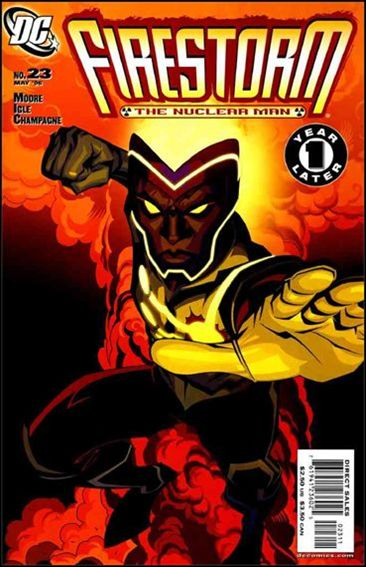 Firestorm: The Nuclear Man (2006) 23-A by DC