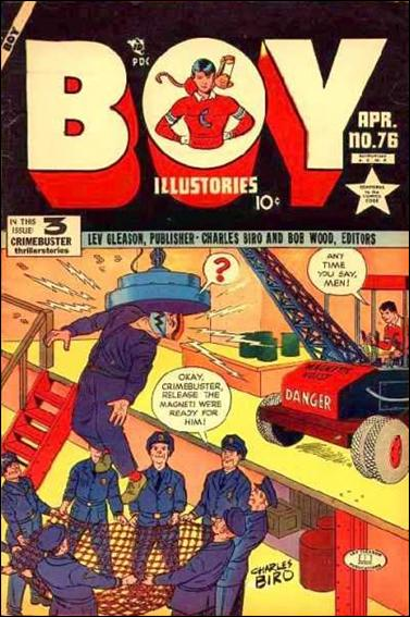 Boy Comics 76-A by Lev Gleason Productions
