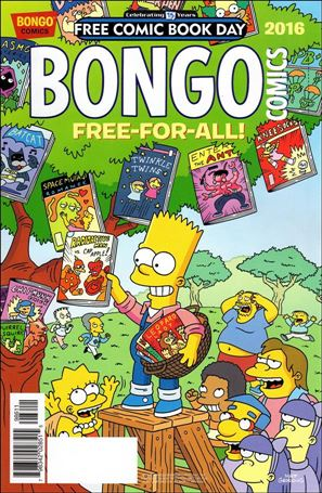 Bongo Comics Free-For-All! 2016-A