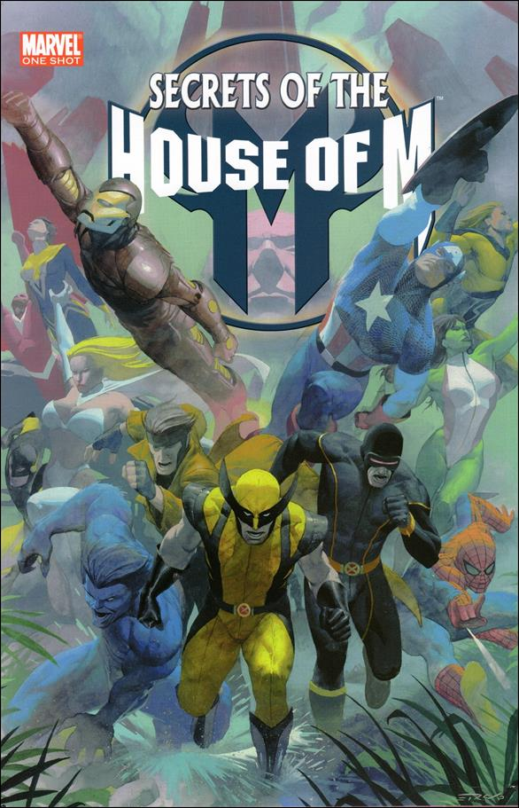 Secrets of the House of M 1-A by Marvel
