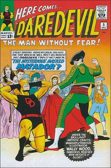 Daredevil (1964) 5-A by Marvel