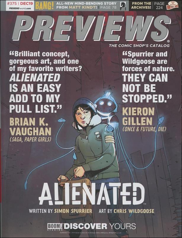 Previews 375-A by Diamond Comic Distributors