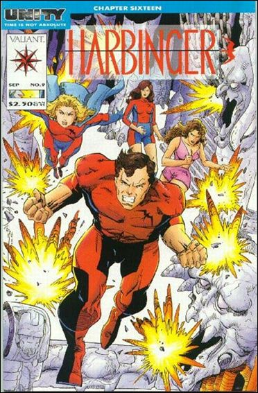 Harbinger (1992) 9-A by Valiant