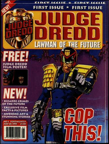 Judge Dredd - Lawman of the Future 1-A by Fleetway