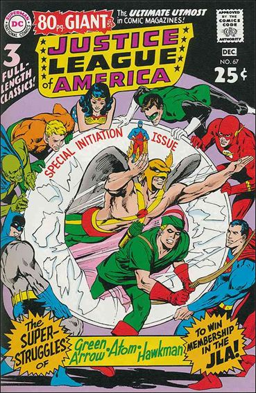 Justice League of America (1960) 67-A by DC